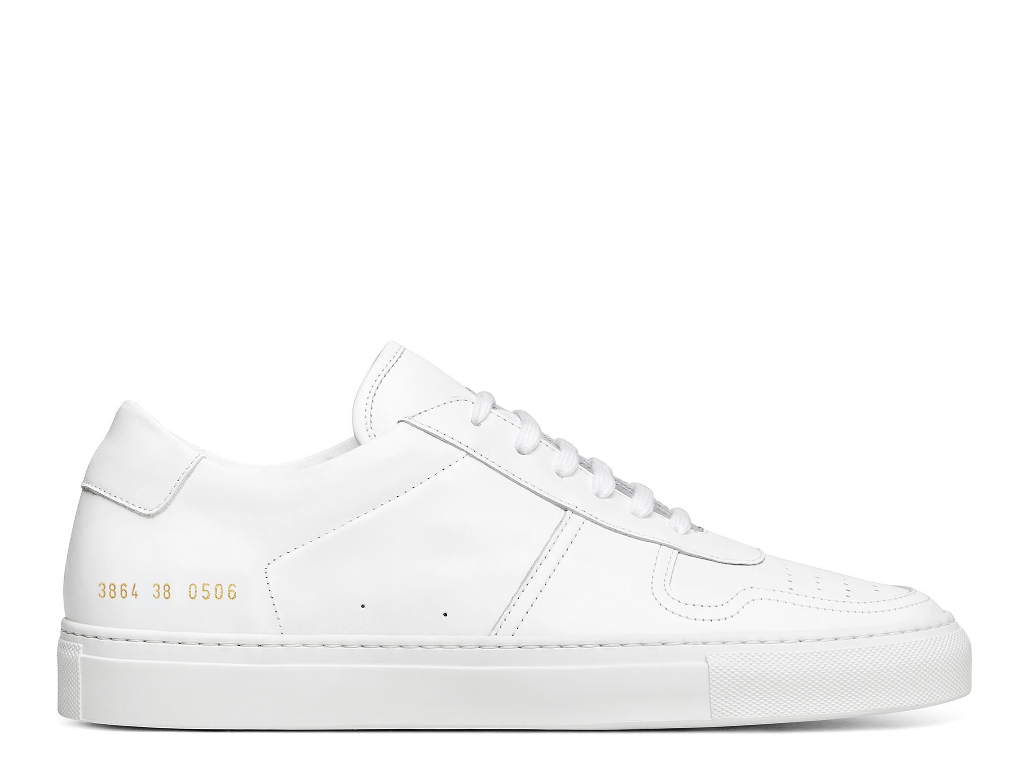 Common Projects Wmns Bball Low Leather by Common Projects Wmns Bball Low Leather 3864 0506 White Bball Low Leather